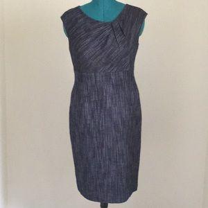 Metallic threaded dress